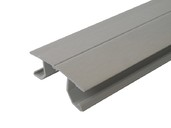 Соединитель FLEX цоколь кух пластик алюминий сатин 66 см FIRMAX