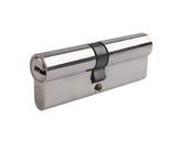Цилиндр профильный ELEMENTIS 40(ключ)/45(ключ) ЦАМ, 5 ключей, никелированный