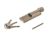 Цилиндр профильный с ручкой ELEMENTIS 45(ключ)/55(ручка), никелированный