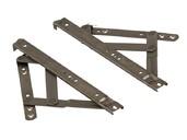 Ножницы фрикционные тип Р для фрамуг с верхним подвесом до 700мм, 2 штуки, 08534000N