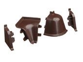 Комплект соединителей к бортику 118 / SB 135 73135 chocolat тени для век chantecaille iridescent eye shade refill chocolat цвет chocolat variant hex name 633c35