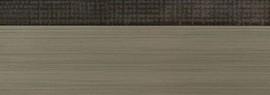 Кромка 3D текстиль тем.золото глянец 23х1 мм, PMMA, двухцветная ALVIC