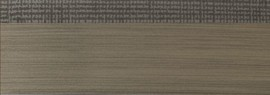 Кромка 3D текстиль графит глянец 23х1 мм, PMMA, ALVIC