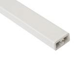 Квадратный профиль для фронтального рейлинга для внутреннего ящика Firmax Newline, L=1100 мм, белый