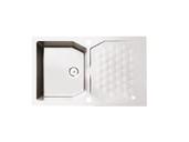 Мойка Alveus Sensual 30 granital, белый жемчуг, 850x520x198мм(+сифон) фото