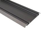 Направляющая нижняя FIRMAX, алюминий, янтарно-коричневый, L=5800 мм недорого