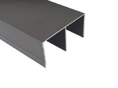 Направляющая верхняя FIRMAX, алюминий, янтарно-коричневый, 5800 мм недорого
