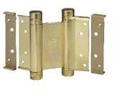 Петля барная 100 мм. для деревянных дверей до 34 кг., латунь фото