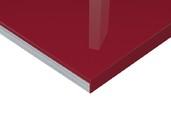 Плита МДФ Тон Винный Красный 0421 глянец УФ-лак, 16*1220*2440 мм плита мдф макассар 3204 глянец уф лак 16 1220 2440 мм