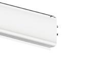 Профиль GOLA FIRMAX П-образный для нижних баз L=4200mm, алюминий белый фото
