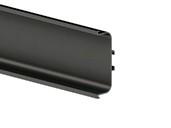 Профиль GOLA FIRMAX П-образный для нижних баз L=4200mm, алюминий черный недорого