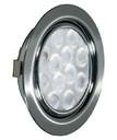 REPLIS-1 LED светильник врезной круглый, хром, 12V, нейтральный белый 5000K, 220Lm, 3W фото