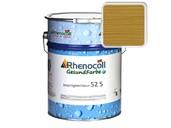 Лак фасадный Rhenocoll Impragnierlasur 52S c защитой от синевы, дуб, шелковисто-глянцевый 1л фото