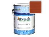 Лак фасадный Rhenocoll Impragnierlasur 52S c защитой от синевы, махагон, шелковисто-глянцевый 1л фото
