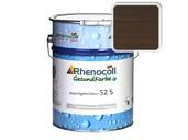 Лак фасадный Rhenocoll Impragnierlasur 52S c защитой от синевы, палисандр, шелковисто-глянцевый 1л фото
