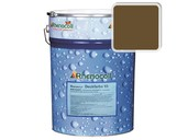 Краска фасадная Rhenocryl Deckfarbe 93C RAL 8008 шелковисто-глянцевая, 1л фото