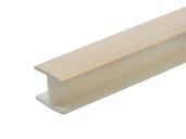 Соединитель 180гр. кухонного цоколя пластик Клен L=1м FIRMAX