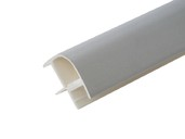 Соединитель 90гр. кухонного цоколя пластик Алюминий гладкий L=1м FIRMAX втулка дистанционная firmax алюминий